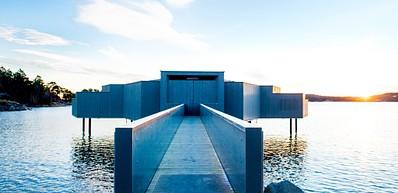 Outdoor swimming bath - Kallbadhuset