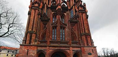 Ensemble of St Anne's and Bernardines Churches