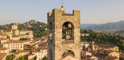 Civic Tower (Campanone - Big Bell) and Palazzo del Podestà