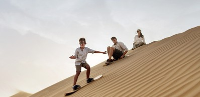 Сэндбординг (бординг на песке)