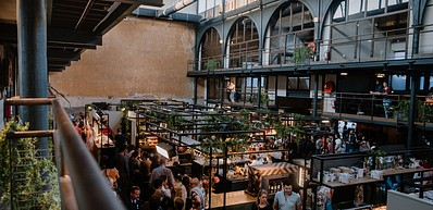 Foodmarket: De Vleeshalle