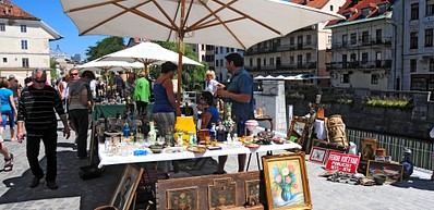 The Ljubljanica Bank – Open Air Markets