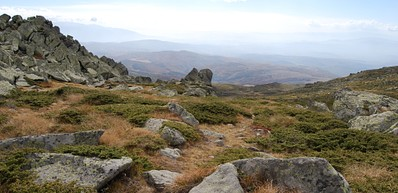 Der Vitosha Berg