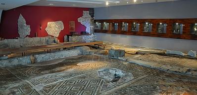 Antikes Wohngebäude Eirene