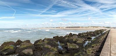 Strand von Rotterdam