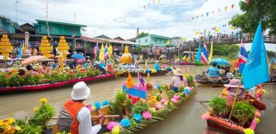 Damnoen Saduak (Schwimmender Markt)