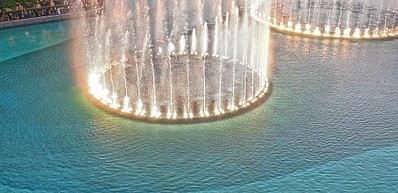 迪拜喷泉(Dubai Fountain)