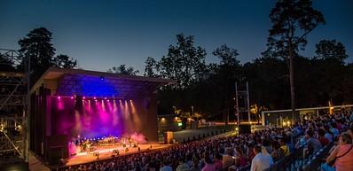 Aufführungen der Freiluftbühne in Nagyerdő