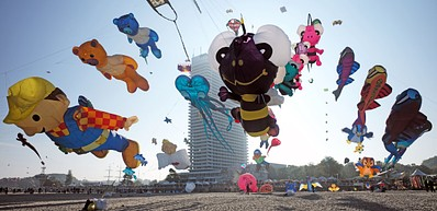 Gone with the wind - Travemünde Kite Festival
