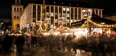 Il Famoso Christkindlesmarkt Di Norimberga