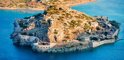 Elounda and Spinalonga Island
