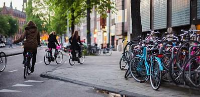 Cyclisme à Amsterdam