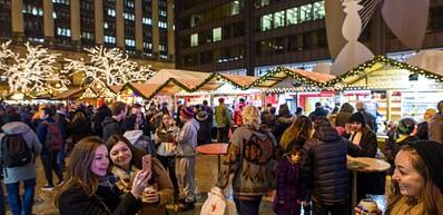 Christkindlmarket Chicago (November-December)