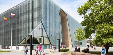 POLINポーランド・ユダヤ人歴史博物館