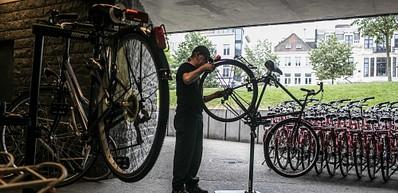 Affittare biciclette, De Fietsambassade