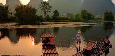 Drifting on Yulong River / 遇龙漂流