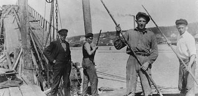 Svartvik Industriegeschichte