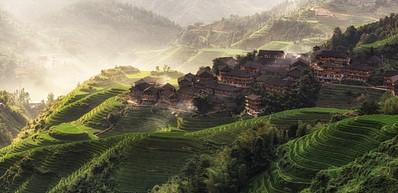 Tiantouzhai Village / 田头寨