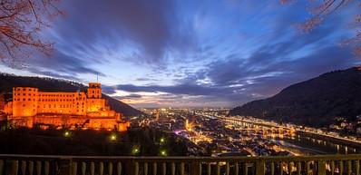 Château de Heidelberg (avec le chai à barriques et le Musée de la pharmacie allemande)