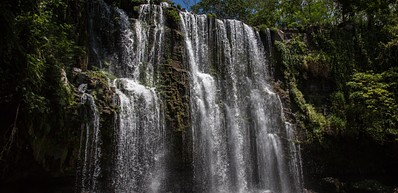 Llanos del Cortés Waterfall