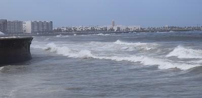 Playas Ain Diab y La Corniche