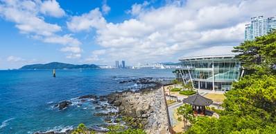 Dongbaekseom Park & Haeundae Beach