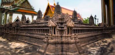 Miniature Replicas Of Angkor