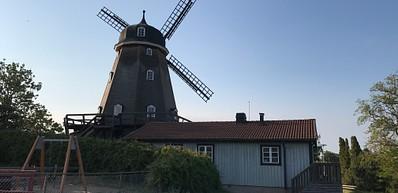 Sturkö kvarn - café d'été