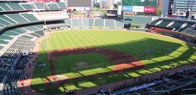 Os Atlanta Braves e o SunTrust Park