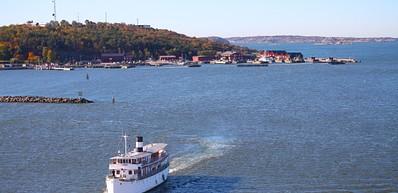 Visite de l'archipel à bord d'un bateau Strömma