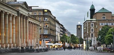 Königstraße – zone piétonne