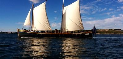 Cannon sloop Diana´s public sailings