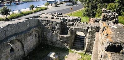 Aosehus - slottsruin