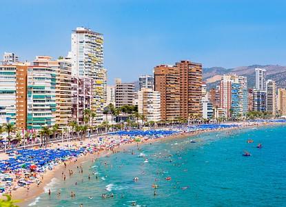 Map Of Spain Benidorm.The Best Travel Guide To Benidorm