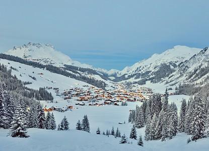 Langlaufen   Lech Zürs am Arlberg