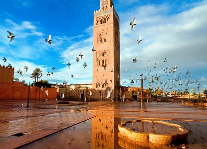 Koutoubia Mosque And Minaret Marrakesh Arrivalguides Com