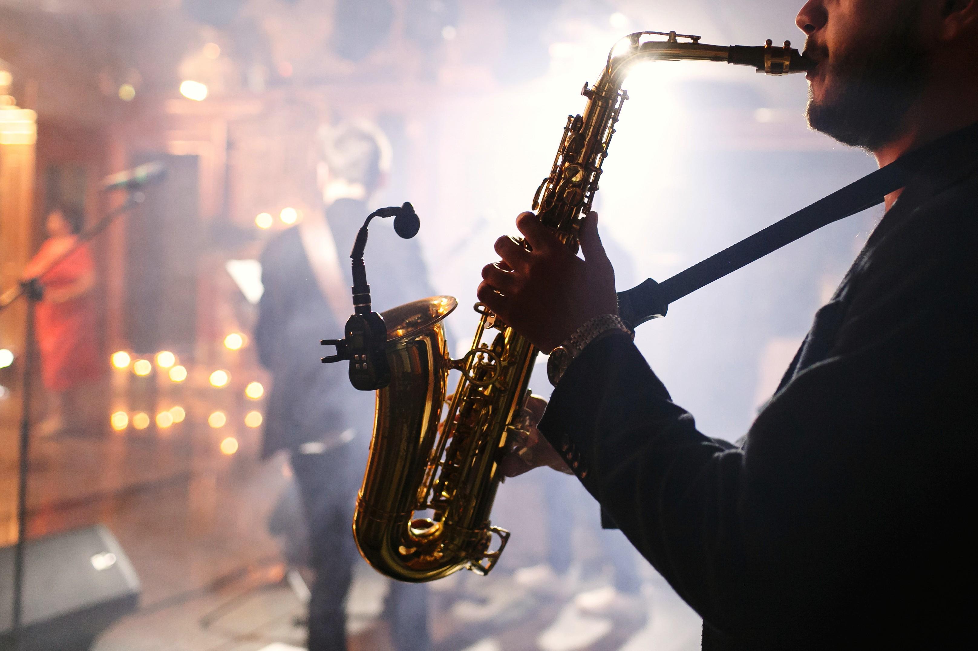 Красивый ночной джаз фото