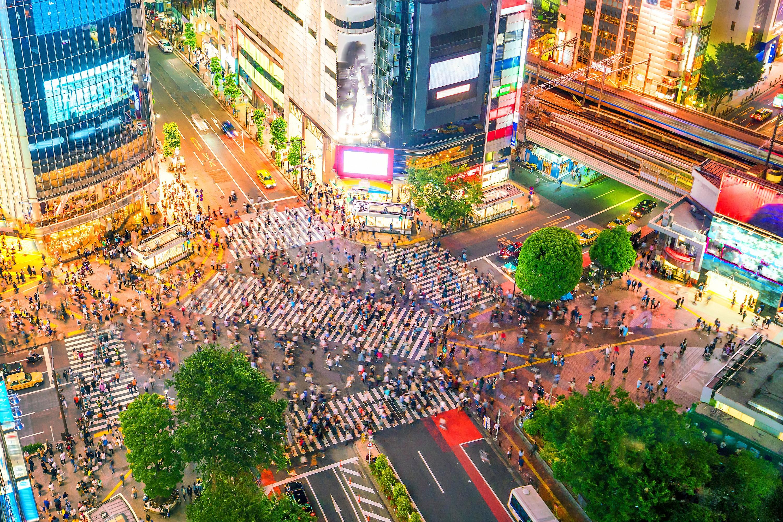 Shibuya crossing - Tokyo - Arrivalguides.com
