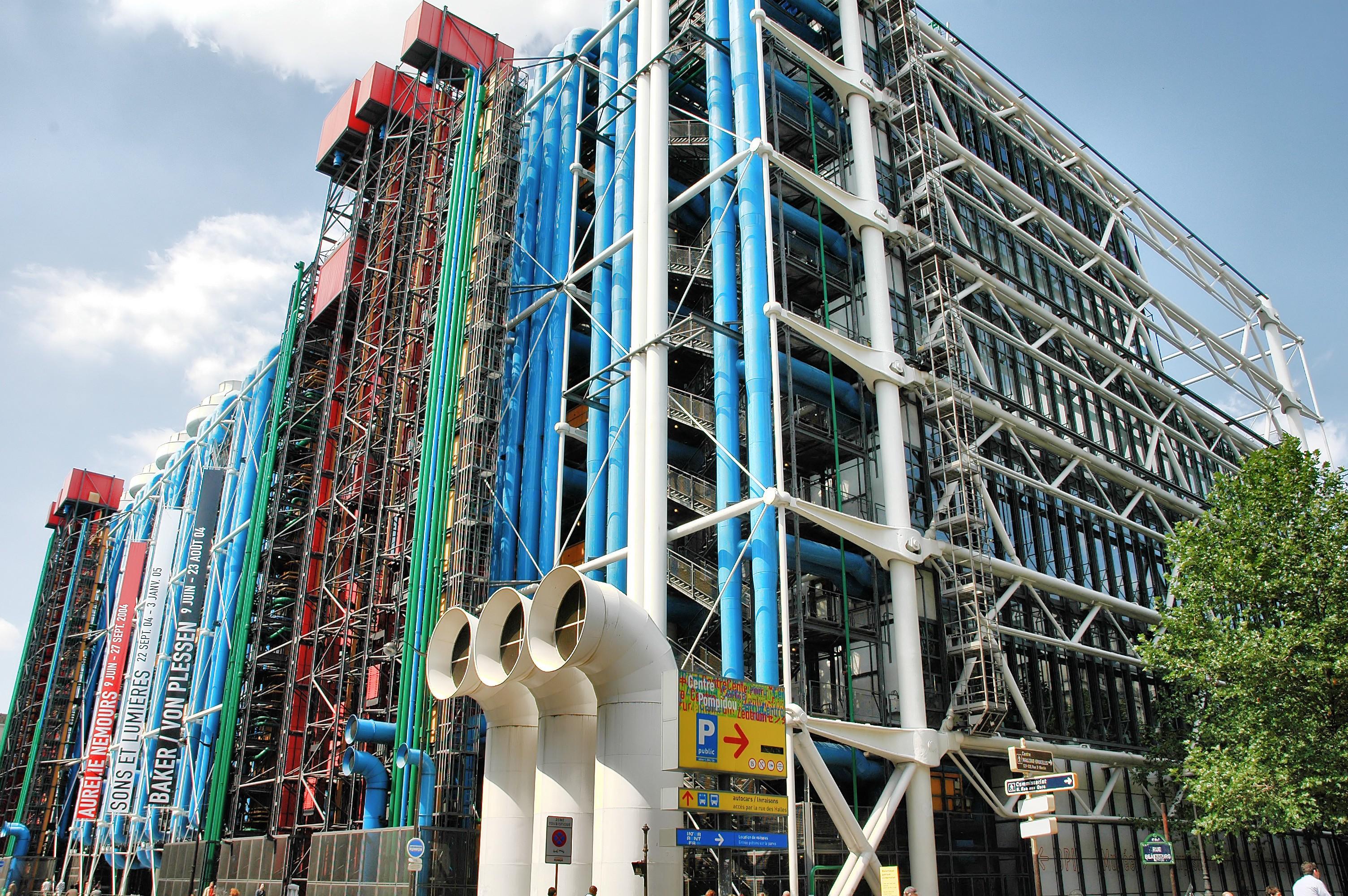 Centre Pompidou - Paris - Arrivalguides.com