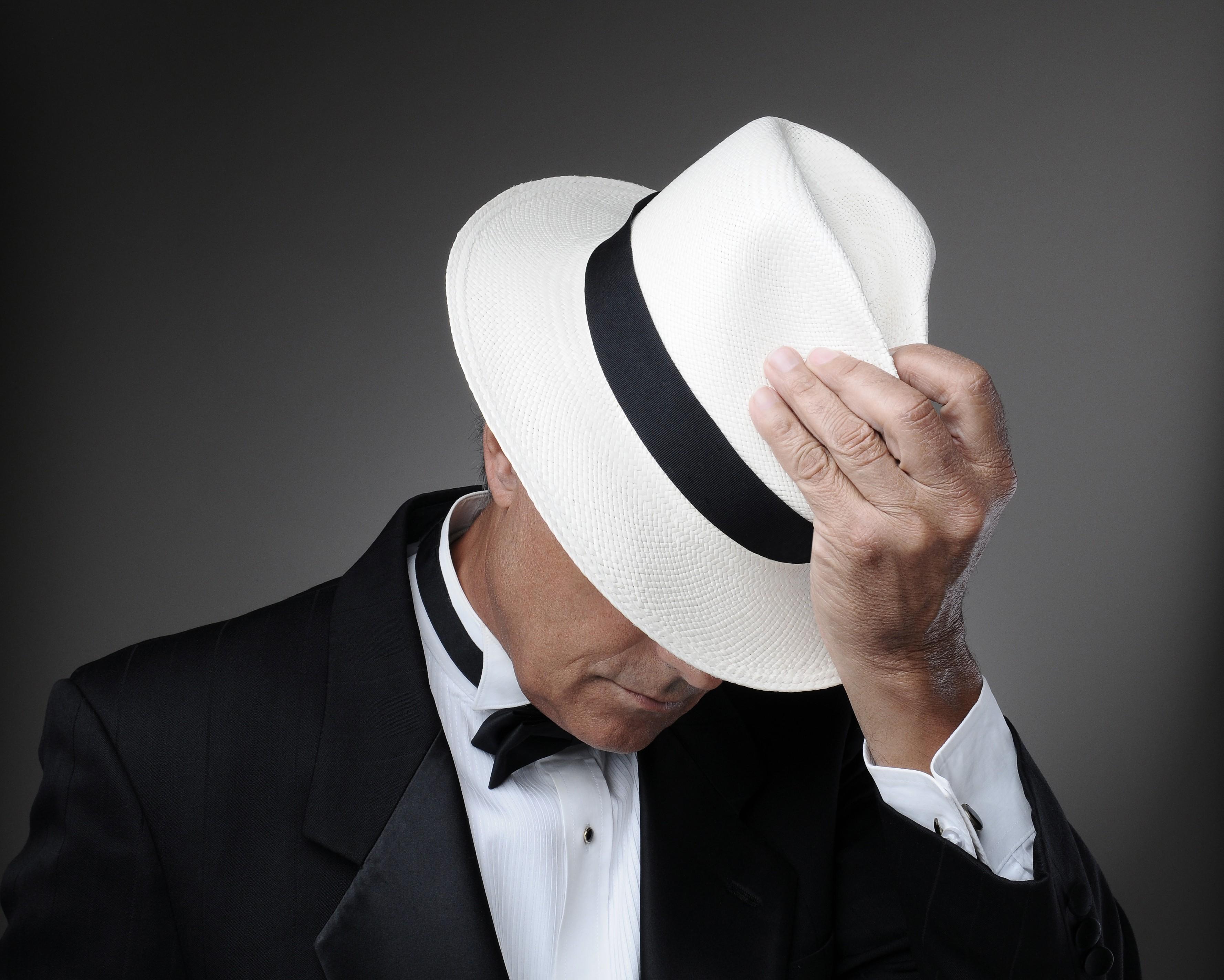 Снимаю шляпу открытка