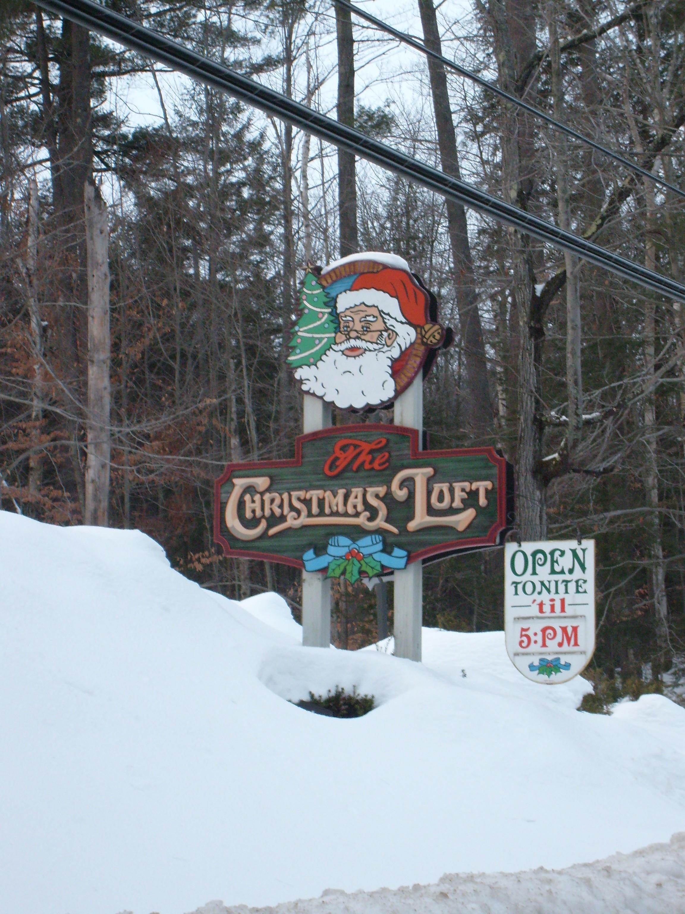 The Christmas Loft.The Christmas Loft Lincoln New Hampshire Arrivalguides Com